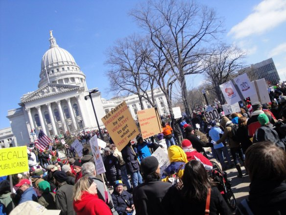 Madison Protest 12 March 2011